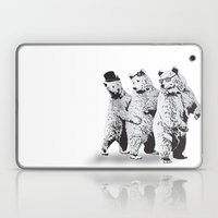 Funky Bears Laptop & iPad Skin