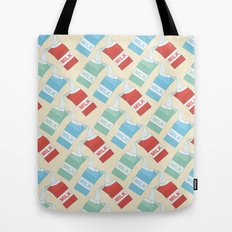 Don't cry over spilt milk Tote Bag