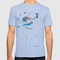 Untitled Mens Fitted Tee Athletic Blue SMALL