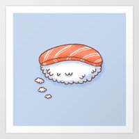 Sushi Dream Art Print
