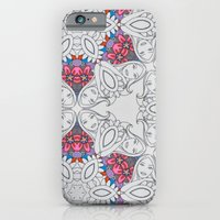 Dreamy Girl Lounging Kaleidoscope  iPhone 6 Slim Case