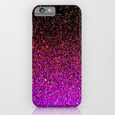 Pink Glitter Sparkle Gradient iPhone 6 Slim Case