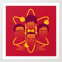 Big Bang Rhapsody Art Print