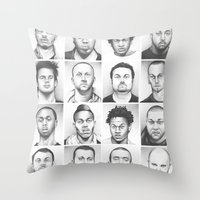 i am a man Throw Pillow