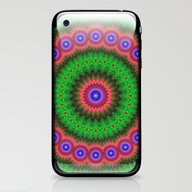 Mandala Flower Bouquet iPhone & iPod Skin