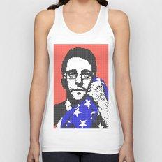 Snowden Revolution Unisex Tank Top