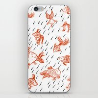 Rainy Fish iPhone & iPod Skin