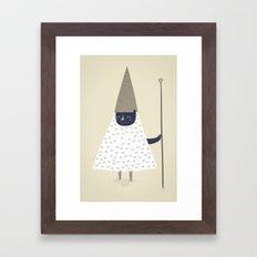 wizard. Framed Art Print