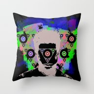 Throw Pillow featuring Infinite Introspection by Dave Kunst