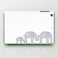 Elephant Family iPad Case