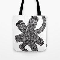 Artificial Vein Tote Bag