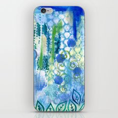 In amongst the blues and greens iPhone & iPod Skin