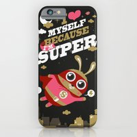 iPhone & iPod Case featuring I'm super by MKT4