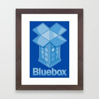 Bluebox Framed Art Print