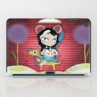 Doll  little dog carrousel and cute butterfly panda bear toy iPad Case