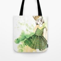 Little Queen Tote Bag