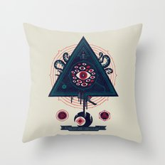 All Seeing Throw Pillow