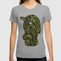 Irradié - The Print Womens Fitted Tee Athletic Grey SMALL