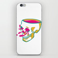 Liquid thoughts:Skull iPhone & iPod Skin
