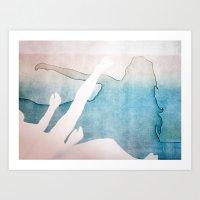 Falling 1 Art Print