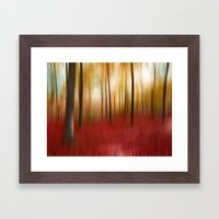 Autumn Forest Framed Art Print