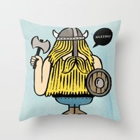 Pillage and Plunder Throw Pillow