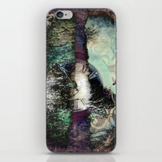 Time keeps on slipping...... iPhone & iPod Skin