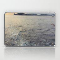 Laptop & iPad Skin featuring Leaving Ischia by EnglishRose23