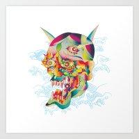 Jalousie Art Print