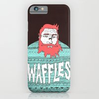 iPhone & iPod Case featuring Mister Waffles by Michael Todd Berland