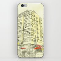 I Love Hong Kong iPhone & iPod Skin