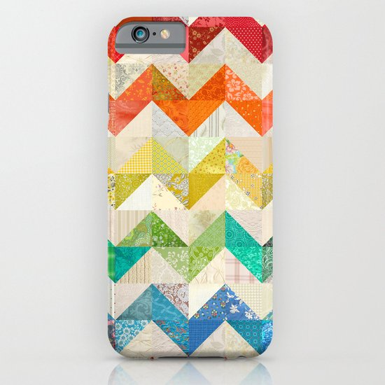Chevron Rainbow Quilt iPhone & iPod Case