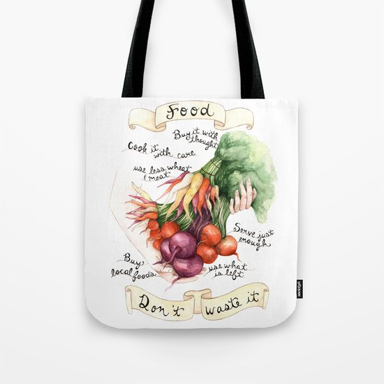 Food Poster Tote Bag