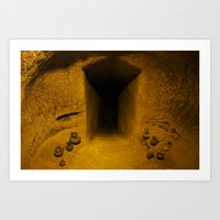 Dark Tomb Art Print