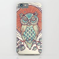 Owl On Branch iPhone 6 Slim Case
