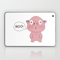 SOLD!! Confused Pig Laptop & iPad Skin