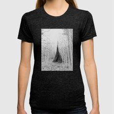 Aspen Teepee Womens Fitted Tee Tri-Black SMALL