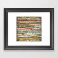 Three Junks Framed Art Print