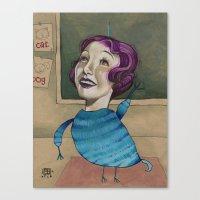 RAISE YOUR HAND Canvas Print