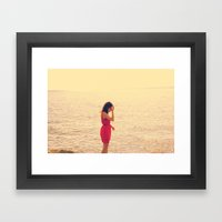 candid Framed Art Print