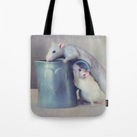 Jimmy And Snoozy Tote Bag