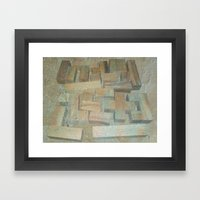 Mosaik 1.1 Framed Art Print