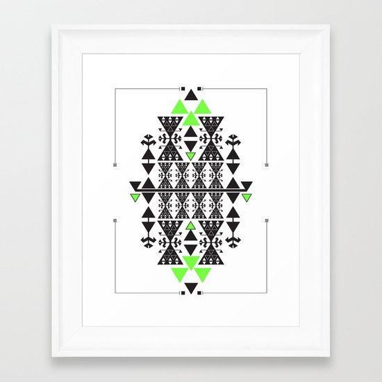 :::Space Rug::: Framed Art Print