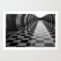 Moscow Metra Art Print