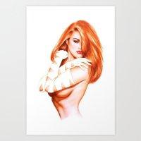 NUDWOM Art Print