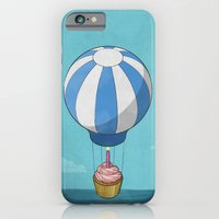 iPhone & iPod Case featuring Flying Cupcake by boobee