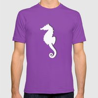 Seahorse Mens Fitted Tee Ultraviolet SMALL