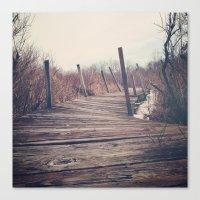 Wanderlust - Roam Wherev… Canvas Print