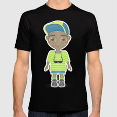 Fresh Prince Black Mens Fitted Tee SMALL
