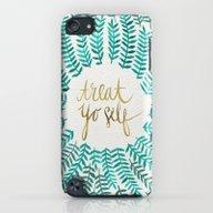 Treat Yo Self – Gold &… iPod touch Slim Case